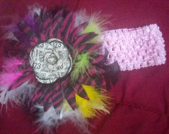 Inant and toddler girl headbands with bows