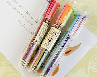 Six—Color Ballpoint Pen