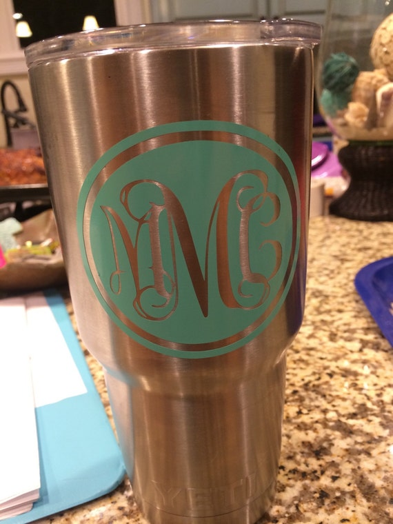 Yeti Cup Sticker By Sticitstickers On Etsy