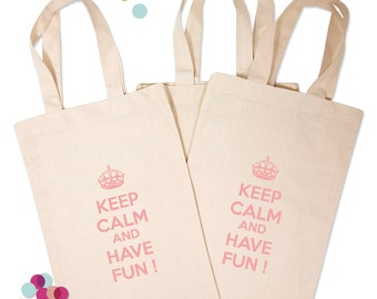 Bag Tote bag cotton for partying EVJF girly Keep calm