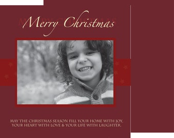 Custom Photo Christmas Card 2015