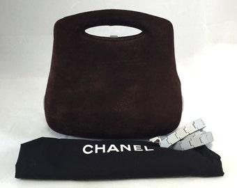 brown chanel handbag