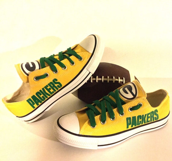 Green Bay Converse Shoes