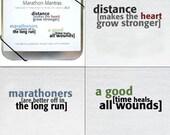 Running Cards -- Marathon Mantras