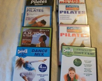 32 Workout/Fitness Dvds