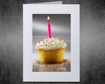 Photo Notecard, Birthday Wish, Birthday Card, Custom Notecard, Photo Greeting Card, Special Occasion, Personal Greeting Card, Happy Birthday