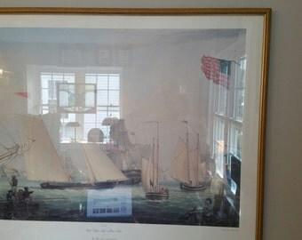 C.A. 1980's Nautical Print
