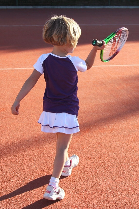 svetlana raglan tennis outfit girls tennis clothes junior