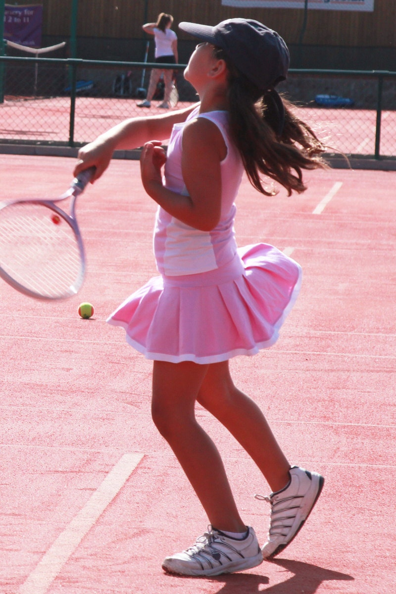 roberta tennis outfit girls tennis clothes junior tennis