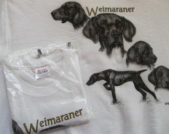 Weimaraner Sweatshirt & T-shirt Set Size 2x ( 50 - 52 )