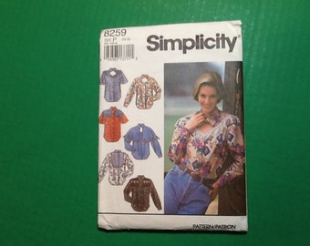 Vintage Sewing Pattern  Simplicity 8259  Free Shipping