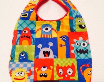Monster Baby Bib