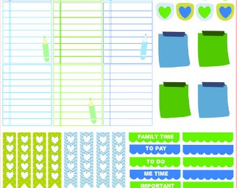 Notepads - stickers for planners, journals, notebooks, etc.