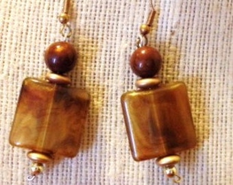 Fall earth Earrings