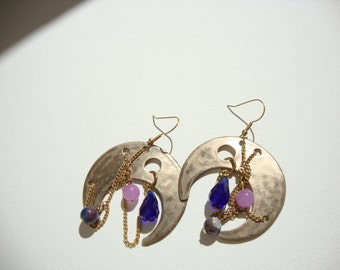 "Earrings Bohemian""style gipsy"