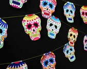 Calavera skulls garland - Halloween decor