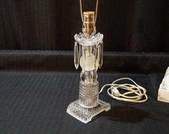 Crystal Boudoir Lamp