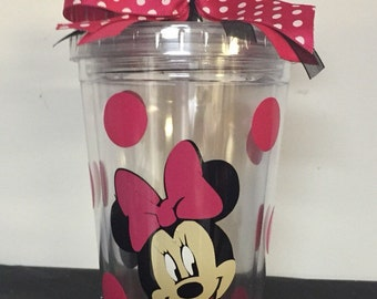 Minnie Mouse Tumblers
