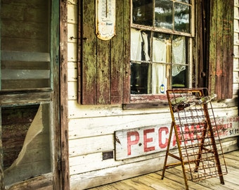 Vintage Photography Old General Store Print