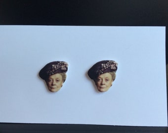 Downton Abbeys Dowager Countess Earrings