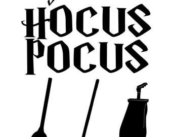 Hocus Pocus - svg file