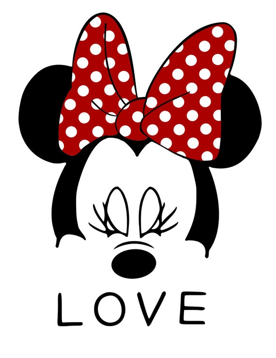 minnie mouse face svg file from mamascontrolledchaos on Crochet Clip Art Yarn Knit and Crochet Clip Art