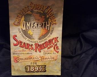 Sears Roebuck consumer guide 1894
