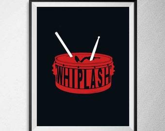 Minimal Whiplash film Poster - 2014 movie