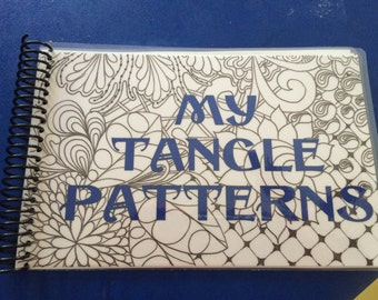 Zentangle  My Pattern Book on vacation from 7/8-7/17