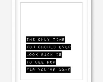 Printable quote - modern typography print - motivational quote printable art - inspiring quote poster - digital print - INSTANT DOWNLOAD