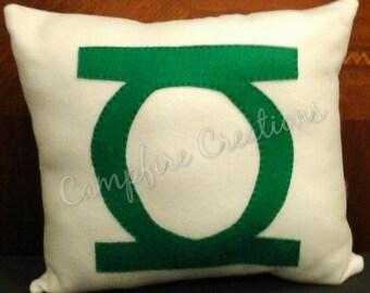 Green Lantern Pillow