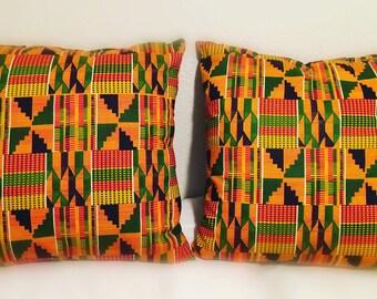 Ethnic Kente Pillows
