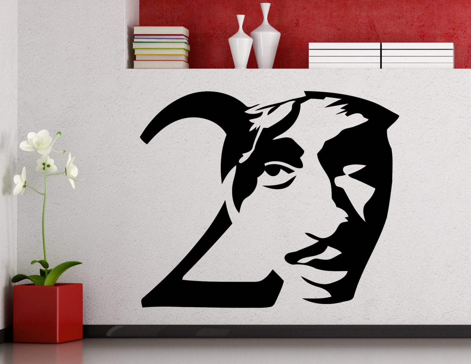 tupac wall mural tupac mural picture of la hood life 2pac mural for flexfit headwear on behance
