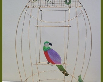 gilded bird cage