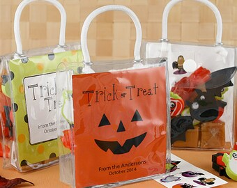 Goody bags - 12 candy bags, goodie bags, halloween bags, halloween treat bags, treat buckets bags