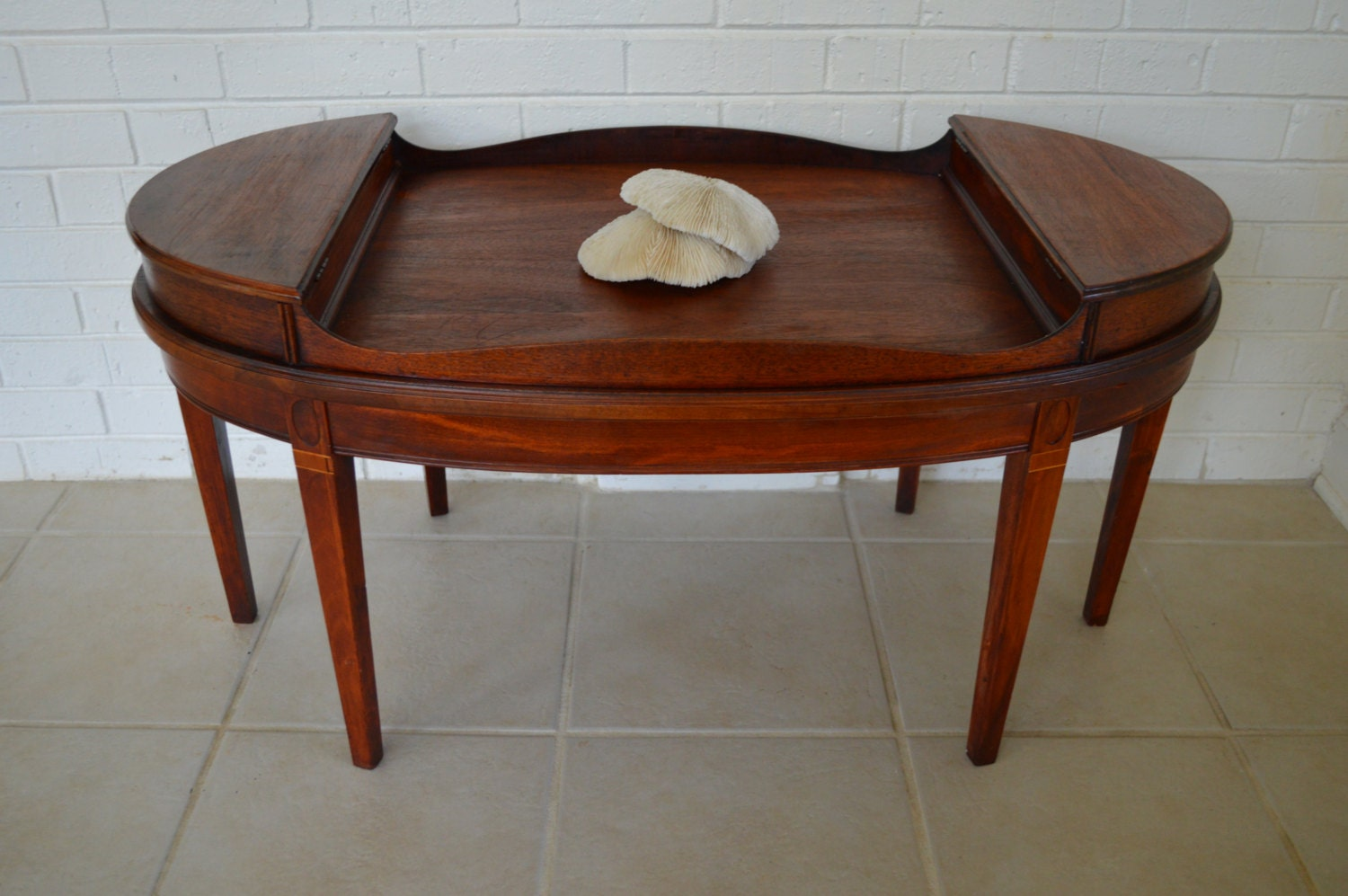 vintage rare mersman oval coffee table haute juice