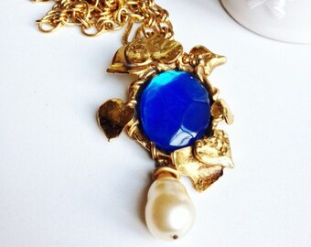Necklace Emmanuel Ungaro, authentic, vintage but nine, french jewelry, accessories fashionista