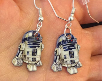 Star Wars R2D2 dangle earrings