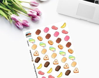 Kawaii UK TREATS - Planner Stickers CAM00211