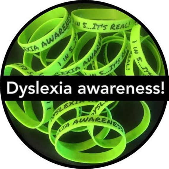 Dyslexia Awareness Silvers: Items Similar To Dyslexia Awareness, 1 In 5...It's Real