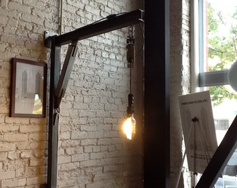 Jib Crane Lamp
