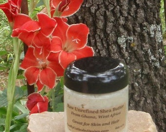 Raw Shea Butter from South Africa - Unrefined Organic, 100% Natural Skin Treatment Chapped Dry Skin