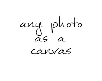 canvas gallery wrap, photography, fine art print
