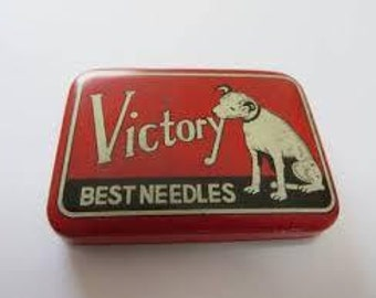 Vintage Phonograph needles victory