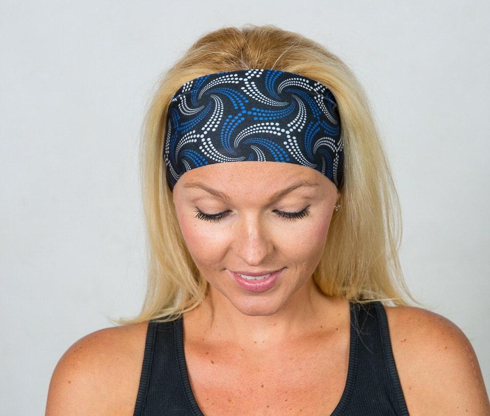 Fashion Headbands: Yoga Headband Wide Bohemian Headband Fashion Headband Fitness