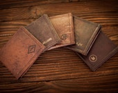 Mens wallet, leather wallet, anniversary gift, mens gift, gifts for him, gift for men, boyfriend gift, groomsmen gift