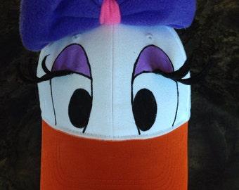 Daisy Duck Style Cap - Child / Adult
