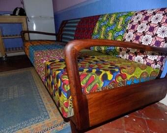 Vintage 1940s sofa/bed