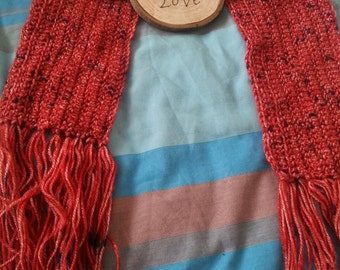 Children's Red Flec Scarf