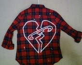5 Seconds of Summer Safety Pin Flannel